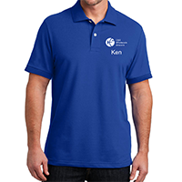 Men Blue Polo