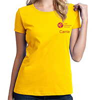 Yellow Ladies Shirt