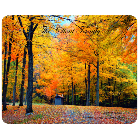 Autumn Forest - Large Cutting Board