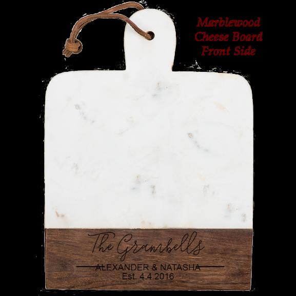 Elegant Marblewood Cheese board