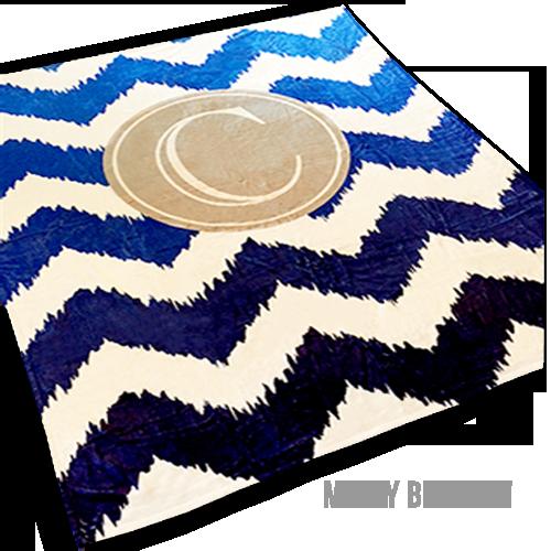 50x60 Personalized Minky Baby Blanket