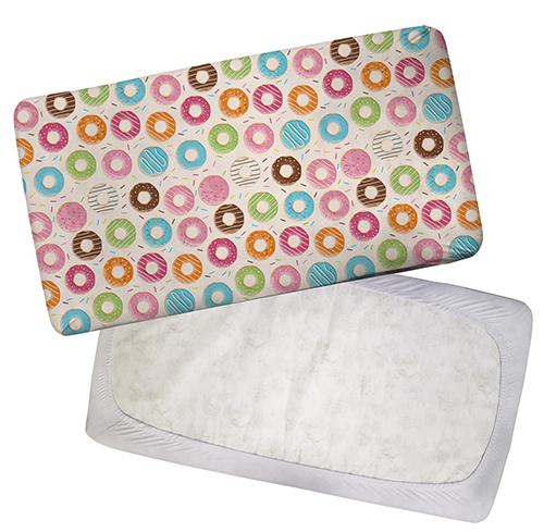 Custom Standard Fitted Crib Sheet